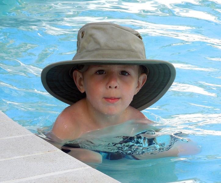 Small Boy, Big Hat