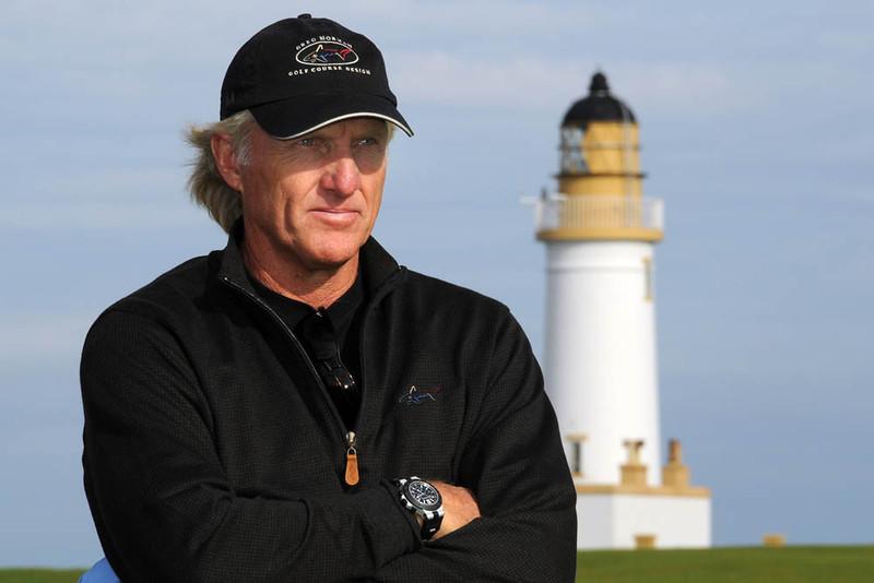 Golfer Greg Norman