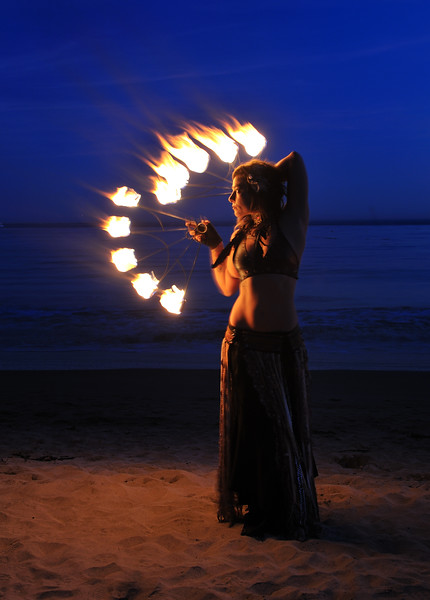 Fire Dancing, Cabrillo Beach, CA
