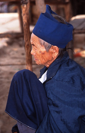 Old Woman, Near Chaing Mai, Thailand