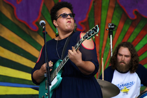 Brittany Howard and Steven Robertson  from ALABAMA SHAKES