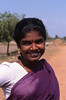 Young Farm Girl, near Kanchipuram, India