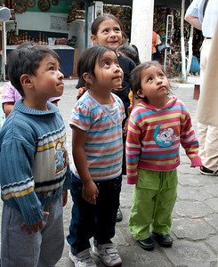 Children Quito  Ecuador