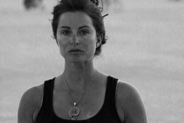 Rachel on the playa