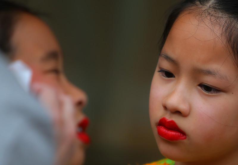 Little miss red lips