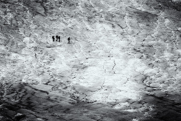 Glacier Walking at the Furka Pass