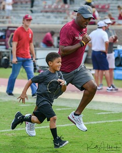 Warrick Dunn & son