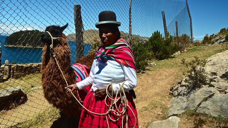 indigenous Indian - Isla Del Sol