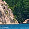 Women Kayaking on George Lake in Killarney Provincial Park, Ontario, Canada