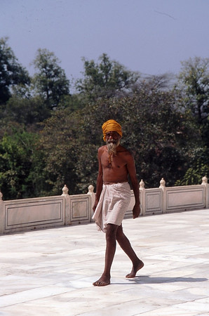 Sikh, Taj Mahal, Agra, India