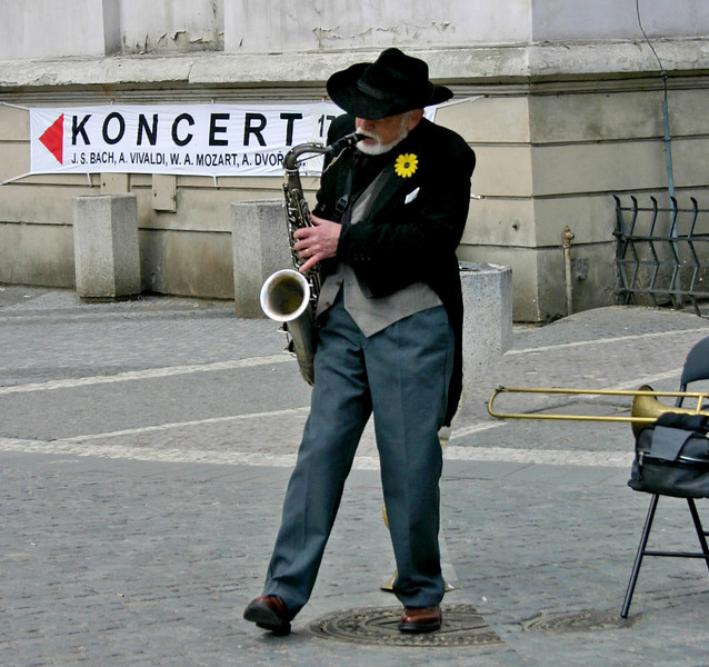 Sax Koncert Prague, Czech Republic