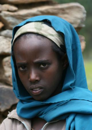 Young Ethiopian girl