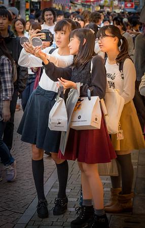 Three Girls - Tokyo, Japan