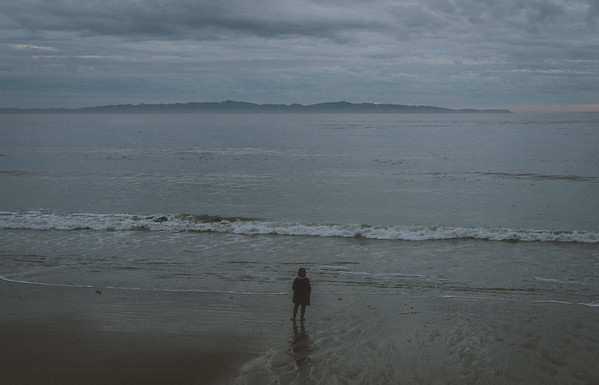 Isla Vista, with a view of the Channel Islands in the distance