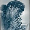 Chuck Bernard, woodcarver - performer