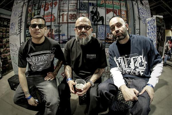 Chuey Quintanar, Bobby Ruiz & Sleeps