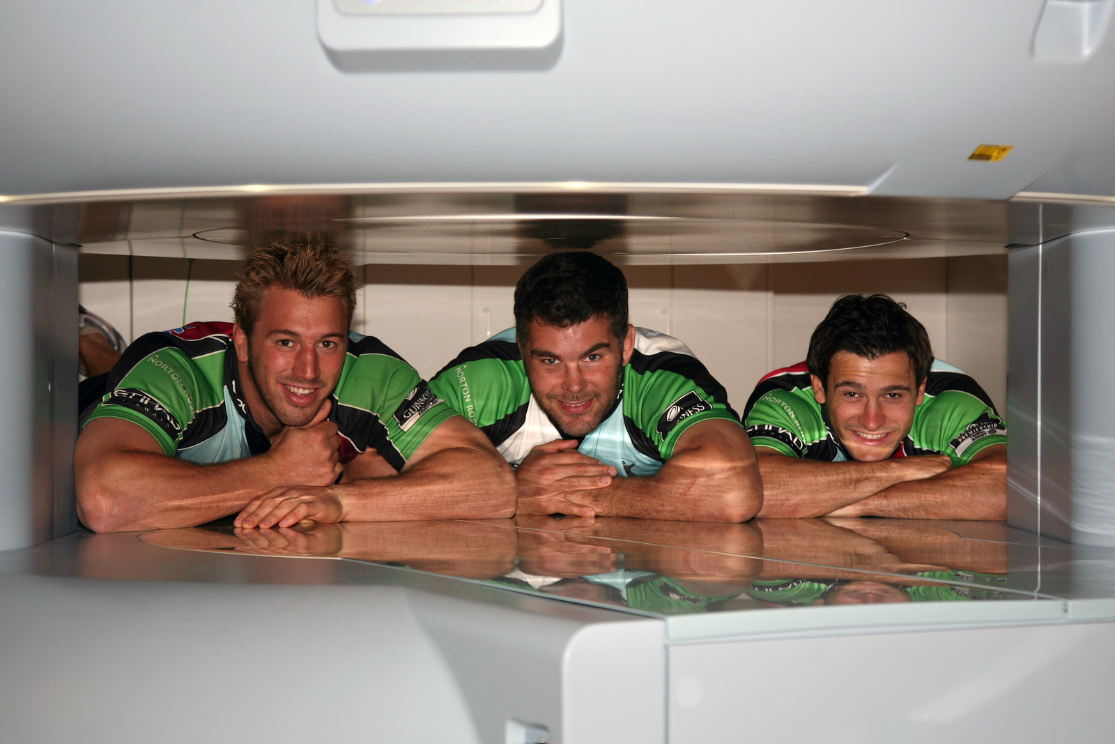 Chris Robshaw, Nick Easter and Danny Care