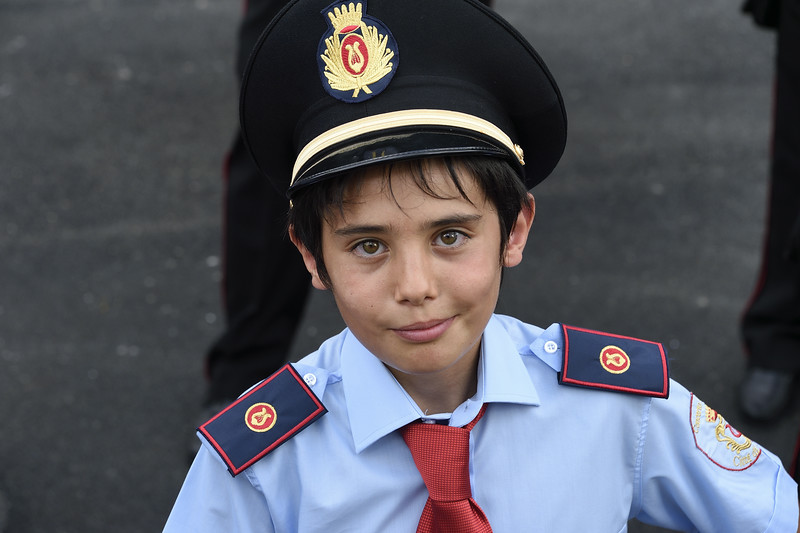 Boy in Marching Band, Grassano, Italy
