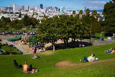 Delores Park, San Francisco, California