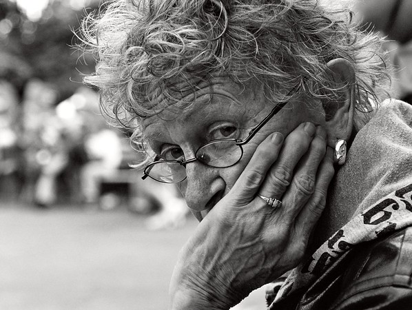 Woman In Thought.