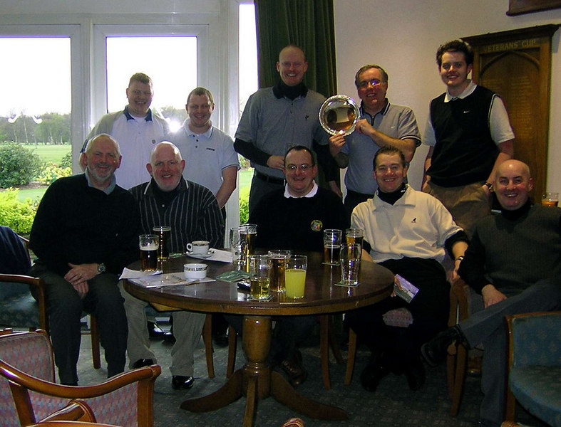 It's Maundy Thursday and we've all bunked off to play golf
