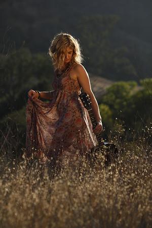 Samantha Stollenwerck -- Album Cover Photoshoot