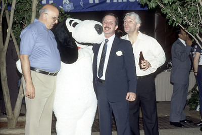 united way party april 1986 artie norz frank delorenzo fred greene