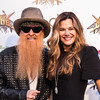 ZZ Top's Billy F. Gibbons at the Revolver Golden Gods 2014