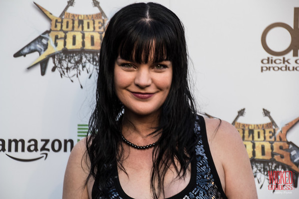 Pauley Perrette at the Revolver Golden Gods 2014