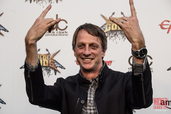 Tony Hawk at the Revolver Golden Gods 2014