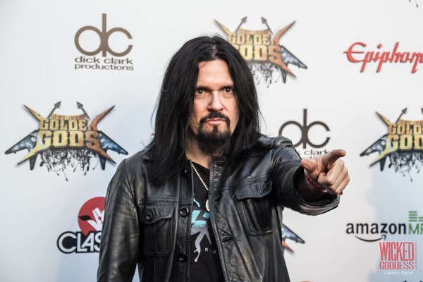 Prong's Tommy Victor at the Revolver Golden Gods 2014