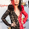 Ash Costello at the Revolver Golden Gods 2014