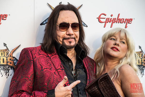 Ace Frehley at the Revolver Golden Gods 2014