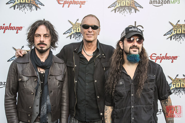 The Winery Dogs at the Revolver Golden Gods 2014