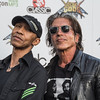 dUg Pinnick and George Lynch at the Revolver Golden Gods 2014