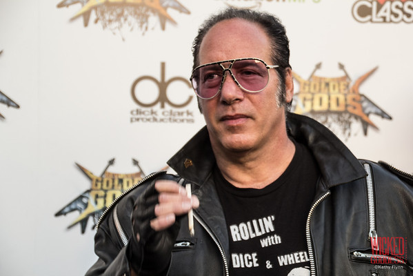 """Andrew """"Dice"""" Clay at the Revolver Golden Gods 2014"""