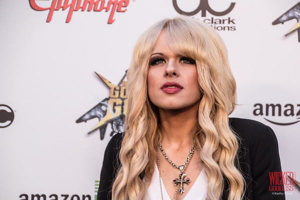Orianthi at the Revolver Golden Gods 2014