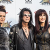 Alice, Sheryl, and Calico Cooper at the Revolver Golden Gods 2014