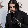 Chris Motionless at the Revolver Golden Gods 2014