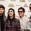 Pierce the Veil at the Revolver Golden Gods 2014