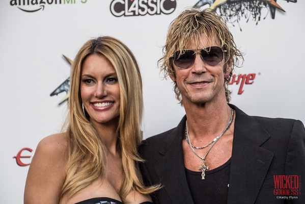 Duff McKagan and Susan Holmes-McKagan at the Revolver Golden Gods 2014
