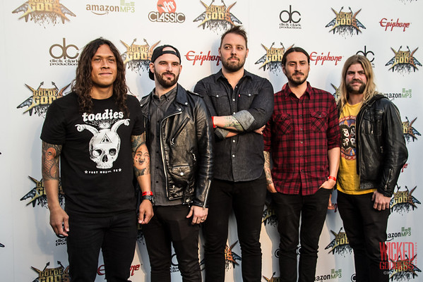 Wovenwar at the Revolver Golden Gods 2014