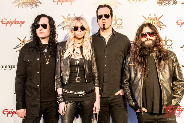 Pretty Reckless at the Revolver Golden Gods 2014