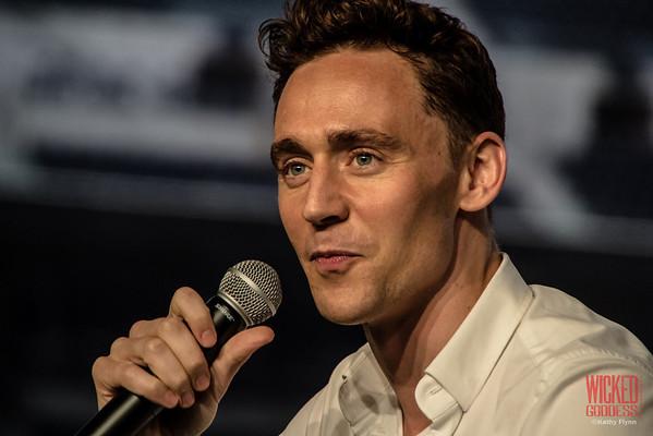 Tom Hiddleston at Nerd HQ, SDCC '13