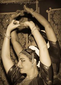 Meenakshi Chataranjan with her student Ildiko Gulyas