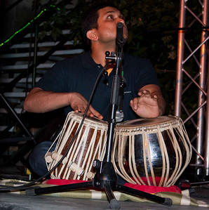 Nitin performing at IndiaFest, Budapest, Hungary