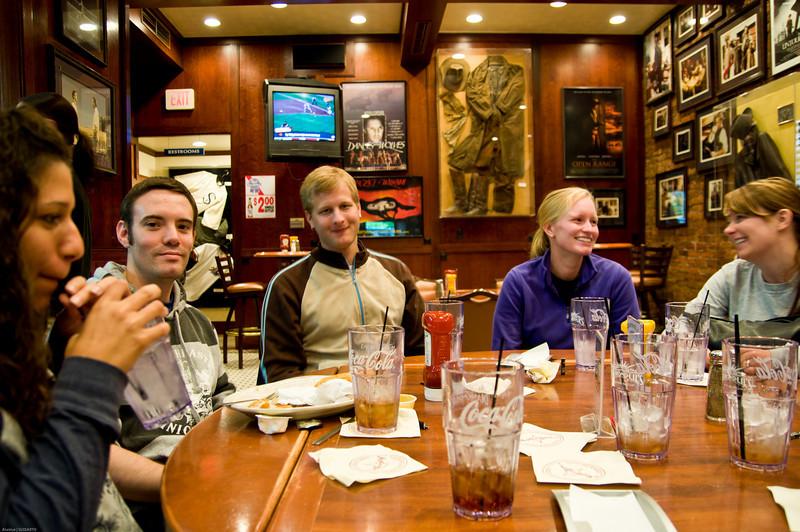 Lunch at Kevin Costner's Midnight Star at Deadwood.