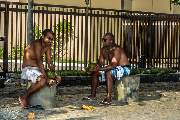 Chilling With Coco. Rio de Janeiro, Brazil
