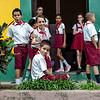 Little School Break In The Afternoon. Baracoa, Cuba