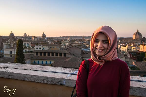 A Heartwarming Smile. Rome, Italy